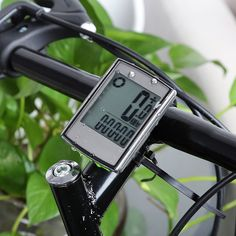 21261cbbadf Water Resistant Wireless Cycle Computer Speedometer with LCD Backlight  Wireless Stopwatch Bike Computers. Bicycle SpeedometerComputer SetCycle ...