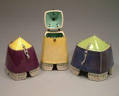 Julie Olson ::: Studio Potter ::: Lidded Boxes