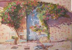 #Frühling #Toskana #Kunst #Malerei #einrichtung Create Yourself, Etsy Seller, Creative, Painting, Art, Tuscany, Painting Art, Paintings, Kunst