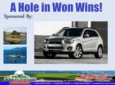 Mitsubishi Golf Hole In One Insurance Putting Contests And ALL - Mitsubishi promotions