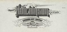 Sanborn Insurance map - Kansas - HUTCHINSON - 1915 - Detail
