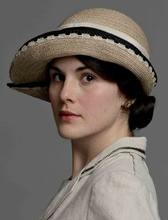 michelle dockery as Lady Mary - Downton Abbey period wardrobe