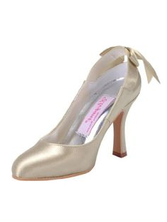 MM-1125 Champagne Elegant Satin Upper Ribbon Tie Stiletto Heel Wedding Evening Shoes US 3 Duosheng,http://www.amazon.com/dp/B00AWO4A6O/ref=cm_sw_r_pi_dp_3vj1rb0A5K8GHQ61 - 3 - 60 - titi