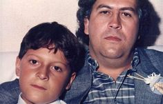 Pablo Escobar e o filho