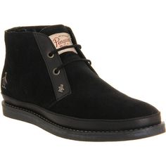 9a747d84553 Original Penguin Lodge Chukka Boots ($57) ❤ liked on Polyvore featuring  men's fashion,