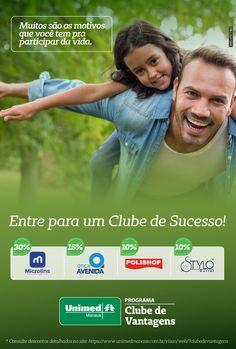 O Clube de Vantagens é uma exclusividade para os Clientes da Unimed Manaus.http://unimed.vc/clubemanaus.Portando o cartão do seu Plano de Saúde, juntamente com sua carteira de identidade, você terá uma série de benefícios e descontos em vários estabelecimentos. Confira quais são algumas destas vantagens em ser Cliente da Unimed Manaus. Mais Vantagens para você.#esseéoplano#unimedmanaus