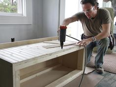 How to Build a Window Bench Seat : How-To : DIY Network
