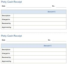 Good Petty Cash Receipt , Petty Cash Receipt Template  Cash Receipt Template Doc