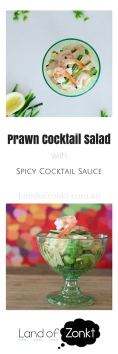 The prawn cocktail revamped into a modern taste sensation... Check out how!