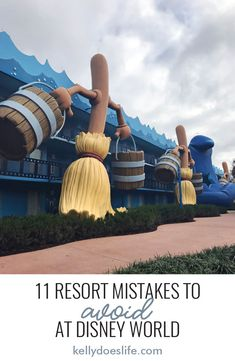 Is it your first time visiting Disney World and staying at a Walt Disney World resort Learn the top 11 rookie mistakes to avoid when staying at a Disney World resort so you have the most magical vacation ever! Disney World Hotels, Disney Resorts, Disney World Tipps, Disney World Vacation Planning, Disneyland Vacation, Disney World Florida, Disney World Parks, Walt Disney World Vacations, Disney World Tips And Tricks
