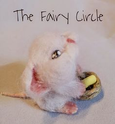 Ooak mouse miniature
