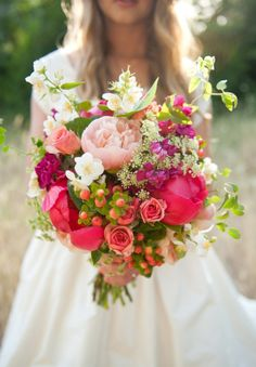 Add some #color to your #bouquet by incorporating bursts of Wild #Flowers!