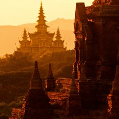 Check out this slideshow Temple Complex, Bagan, Mandalay Division, Burma. in this list 26 Amazing Temples Around the World