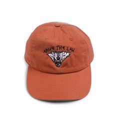 566e0f1b4d054 ABOVE THE LAW DAD CAP - RUST