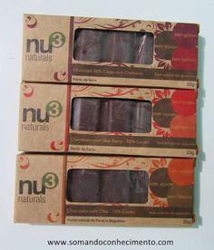 Chocolates funcionais Nu3