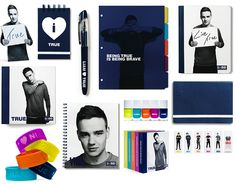 ∞ One Direction [1D] → 1D+OD Office Depot Collection: LIAM PAYNE