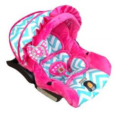 Baby Courtney Infant Carseat Cover at Luxury Baby Nursery