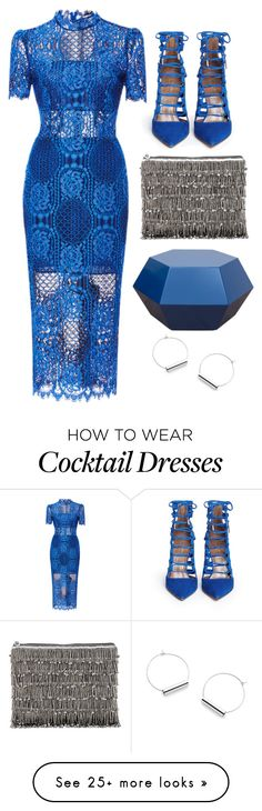 """Royal Blue"" by cherieaustin on Polyvore featuring Alexis, Aquazzura and From St Xavier"