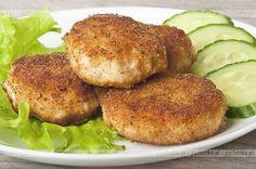 Mielone kotlety z ryby  Iwony Polish Recipes, New Recipes, Dinner Recipes, Cooking Recipes, Favorite Recipes, Dessert Recipes, Good Food, Yummy Food, Seafood Dishes