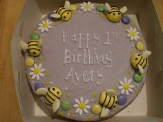 BUMBLEBEE BIRTHDAY CAKE FOR AVERY by bake-a-boo - CATCHING UP!, via Flickr