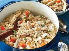Chicken Bog Recipe   A distant cousin of pilau, Chicken Bog combines the best qualities of both chicken and rice. The chicken is juicy, and flavorful, and the rice absorbs the flavor of the chicken and spices. In the best Southern style of rice, the grains don't stick together. Some people theorize that Chicken Bog gets its name because the chicken is bogged in rice. Others claim the name comes because it is a boggy, soggy mess. The recipe is an old favorite, especially in the lowcountry…