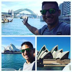 Loving Australia!!!! Checking out the Opera House Sydney Harbour Bridge Manly Beach Shark Island!! #OperaHouse #SydneyAustralia #SydneyHarbourBridge by landonproductions http://ift.tt/1NRMbNv