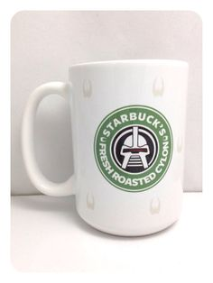 WANT :D   Battlestar Galactica Cylon 15oz Mug Large by PrettyLittleTragic, $12.00