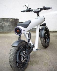 9d134266eb Elektrische Motorrad Pocket Rocket von Sol Motors aus Deutschland - -  Dekoreji - #aus #