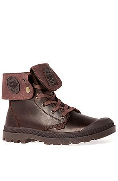 The Baggy Leather Boot in Russet