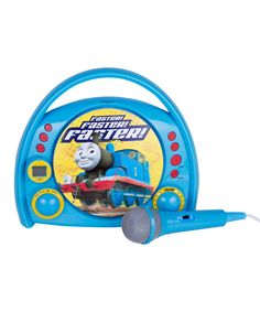 Look at this Thomas Sing Along CD Boombox on #zulily today!