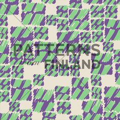 Maria Tolvanen: Työn alla – Varo! #patternsfromagency #patternsfromfinland #pattern #patterndesign #surfacedesign #mariatolvanen