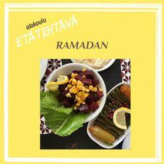 Alakouluun sopiva tehtävä ramadanista. Ramadan
