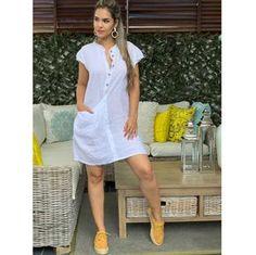 Plus size outfits Simple Dresses, Cute Dresses, Casual Dresses, Short Dresses, Fashion Dresses, Summer Dresses, Fashion Mode, Womens Fashion, Linen Dresses
