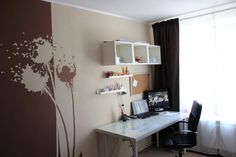 Спальня и кабинет в одной комнате - Ярмарка Мастеров - ручная работа, handmade