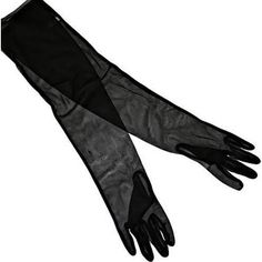 sheer mesh gloves