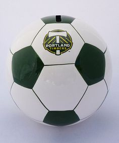 Portland Timbers Soccer Money Bank
