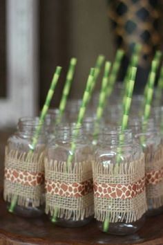 Walk on the Wild Side with a Safari Birthday Party - Jungle Themed Party Supplies for a Safari Party www. Safari Party, Jungle Book Party, Jungle Theme Parties, Jungle Theme Birthday, Safari Birthday Party, First Birthday Parties, Themed Parties, Zoo Party Food, Jungle Food