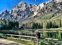 Laghetto di Mosigo San Vito di Cadore Belluno Dolomiti Veneto Italia
