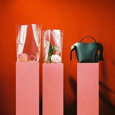 The #AcneStudios Musubi mini handbag as seen in the Acne Studios Norrmalmstorg windows. Available in stores and at acnestudios.com Mini Handbags, Acne Studios, Paper Shopping Bag, Display, Photo And Video, Instagram, Editorial, Windows, Urban