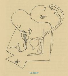 Jean Cocteau - la lettre