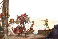 Peter Pan by Sebastian Giacobino.