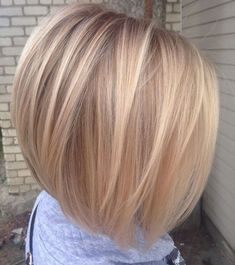 Straight Inverted Blonde Bob Cute Bob Haircuts, Bob Hairstyles For Fine Hair, Hairstyles Haircuts, Wedding Hairstyles, Hairstyle Men, Formal Hairstyles, Modern Haircuts, Braided Hairstyles, Pixie Haircuts