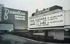 The old address when it opened was 1785 Baseline, Highland, CA. The Baseline Drive-In opened October 1948 with Lucille Ball & Franchot Tone in. Drive Inn Movies, Drive In Movie Theater, Miss California, California History, San Bernardino California, Old Signs, Back To Nature, The Good Old Days, Pictures To Paint
