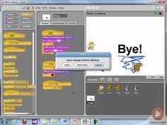 Learn programming with Scratch