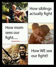 How WE see our fight!!
