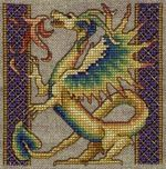 Free Celtic Cross Stitch Charts | Free Dragon Cross Stitch Chart and Patterns