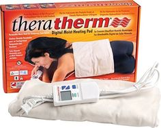 Theratherm Digital Moist Heat Pack provides intense, moist heat therapy for temporary relief from pain associated with arthritis, back pain caused by muscle spasm and inflammation caused by strain and tension. Headache Relief, Back Pain Relief, Best Heating Pad, Heating Pads, Arthritis, Shoulder Heating Pad, Inflammation Causes, Moist Heat, Neck And Back Pain