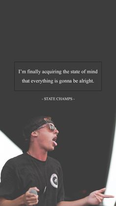 """""""Derek Discanio of State Champs Lockscreen [My edit, not my picture] [Please do not repost] """" State Champs Lyrics, Derek Discanio, Pop Punk Lyrics, Pop Punk Bands, Band Wallpapers, Pop Rocks, Lyric Quotes, Music Lyrics, Neck Deep"""