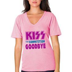 Kiss The Competition Goodbye Sorority Screenprinted T-shirt #Greek #Sorority #Clothing #Recruitment #Rush