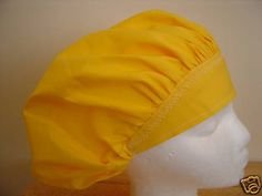 $8.99 This fabric is FUN and FRESH looking. This is a  beautiful solid color scrub hat called CORN YELLOW.  Made of 100% cotton, quilters q...